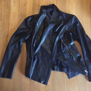 Zara Black Faux suede jacket